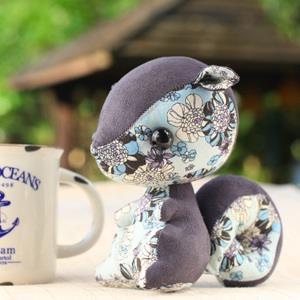 【彩虹森林】瑾花之藍大松鼠吊飾、掛件