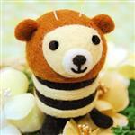 雙手牌 方塊書-蜜蜂熊