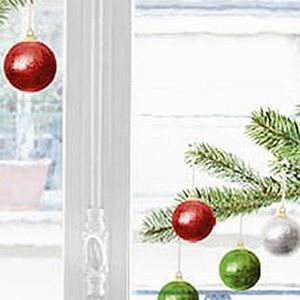 【巴黎無膠創意貼飾】聖誕樹Christmas tree-HOWI005
