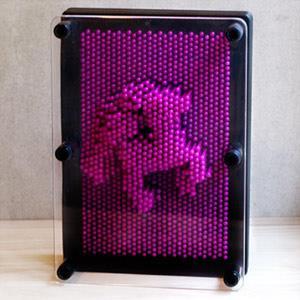 賽先生科學工廠-Pin Art大搞創意複製針【中型】葡萄紫