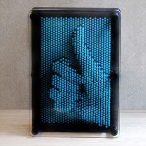賽先生科學工廠-Pin Art大搞創意複製針【中型】水藍