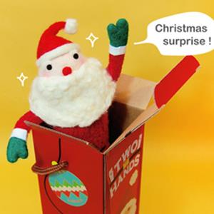 雙手牌 聖誕好人卡進階禮盒限定材料包
