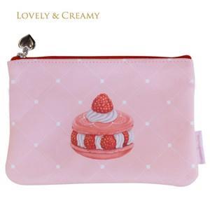 【LOVELY&CREAMY】甜蜜物語系列收納包(優雅菱格)
