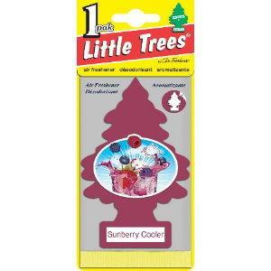 LittleTrees小樹芳香片-仲夏冰莓(Sunberry Cooler)
