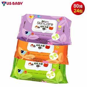 【優生】超厚型柔濕巾80抽-24包