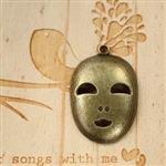 化妝舞會的面具古銅色配件*2‧輕靈之森手工療癒系