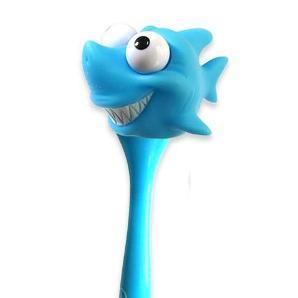 【FOLUCK】迷你凸眼筆-鯊魚