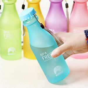 韓國摔不破的汽水瓶隨身水杯/水壺(霧面-黑)
