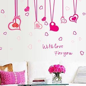 Christine創意組合DIY壁貼/牆貼/兒童教室佈置(可重複貼) 愛在身旁