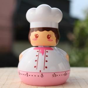 【品生活道具屋】小廚師計時器‧青春粉紅色