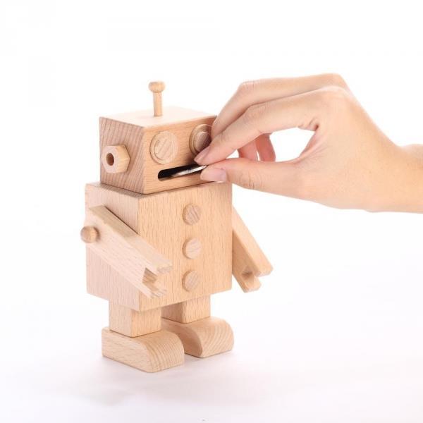 【木匠兄妹】DIY曼尼機器人存錢筒