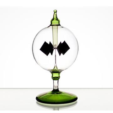 賽先生科學工廠-光能輻射計/太陽風車-綠色12cm