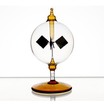 賽先生科學工廠-光能輻射計/太陽風車-琥珀色(12cm)