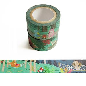 Smohouse和紙膠帶:度假趣系列 思默鎮森林探險