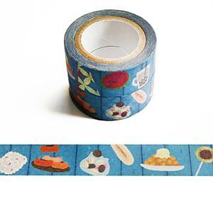 Smohouse和紙膠帶:點心舖子系列 臺式懷舊點心櫃