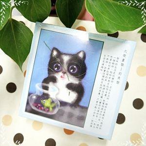 大衛畫貓-文創周邊-釣魚貓-108片拼圖