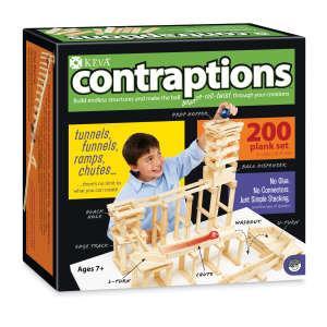 創意滾球實驗-KEVA Contraptions 3D建構積木(200片)