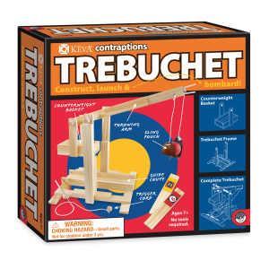 創意滾球實驗-KEVA Trebuchet 3D建構積木投石機