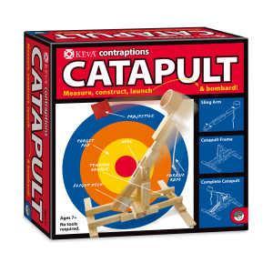 創意滾球實驗-KEVA Catapult 3D建構積木彈射組