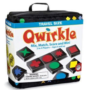 桌上遊戲(旅行組)-原木形色棋 Qwirkle