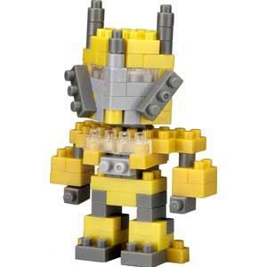 【TICO微型積木】戰鬥機器人(黃)