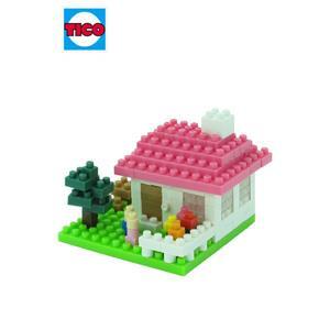 【TICO微型積木】溫馨小屋