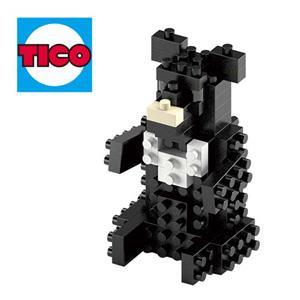 【TICO微型積木】台灣好遊趣-台灣黑熊