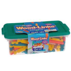 彩色堡壘積木組-收納盒裝