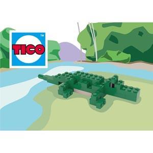 【TICO微型積木】鱷魚