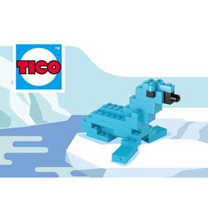 【TICO微型積木】海獅