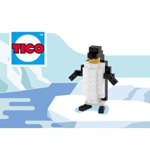 【TICO微型積木】企鵝