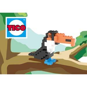 【TICO微型積木】大嘴鳥