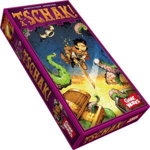 桌上遊戲-魔城奪寶隊長 Tschak