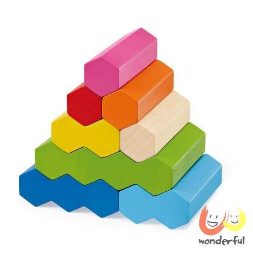 【Selecta】七彩堆疊積木棒