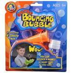 【Uncle Bubble】第二代超級彈跳泡泡-親子遊戲套組(橘)