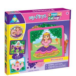 我的第一個立體創作品-公主 Princess