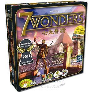 【新天鵝堡桌遊】七大奇蹟 7 Wonders(Seven Wonders)-含長城擴充