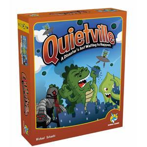 桌上遊戲-寧靜小鎮 Quietville