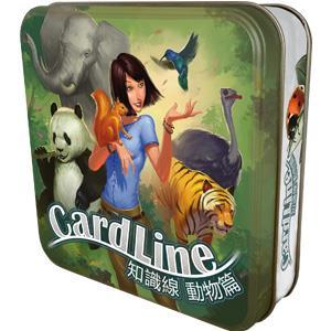 知識線動物篇 (中文版)桌上遊戲 Cardline Animals