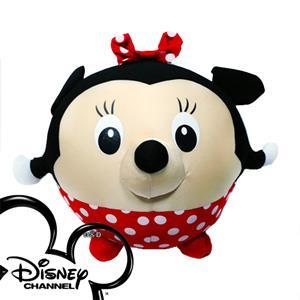 《迪士尼正版授權》12吋可愛米妮頭形抱枕