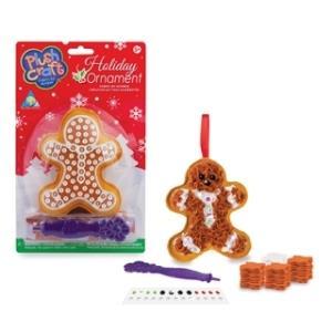 聖誕樹吊飾 薑餅人布布勞作