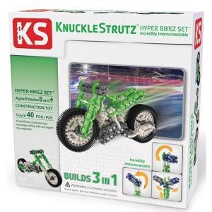 美國 KS 立體結構積木 急速摩托車 HyperBike