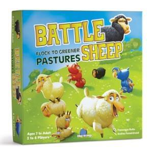 綿羊爭牧場 桌上遊戲 Battle sheep