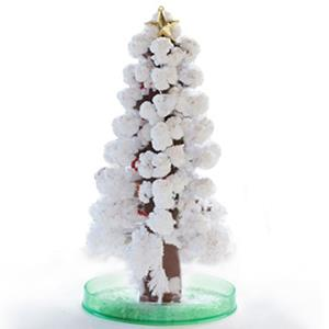 賽先生科學工廠-紙樹開花啦!巨大聖誕樹-銀雪白(新款)