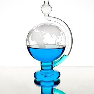 賽先生科學工廠-玻璃氣壓球(晴雨儀)-世界地圖版