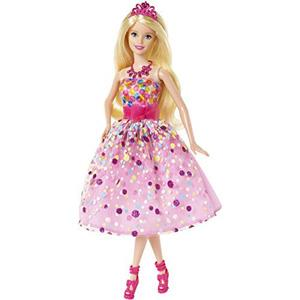 《MATTEL-Barbie》炫彩生日願望芭比