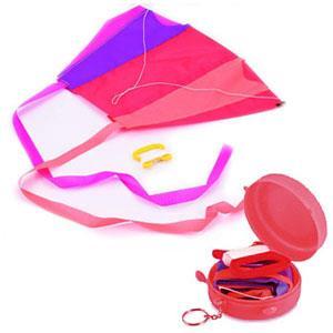 賽先生科學工廠-日本KeyringKite口袋摺疊風箏
