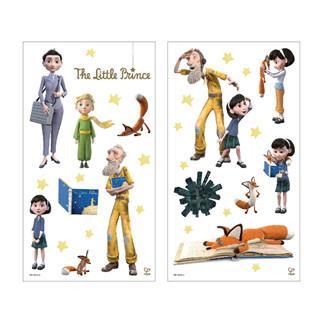 德國Hape愛傑卡-小王子牆面裝飾貼紙-小女孩