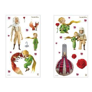 德國Hape愛傑卡-小王子牆面裝飾貼紙-小王子
