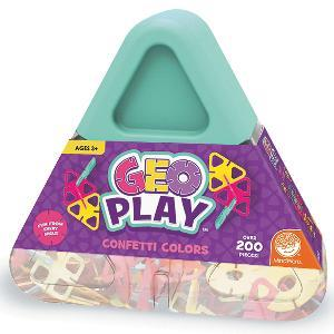 GeoPlay: Confetti 幾何立體建構片- 紫色系
